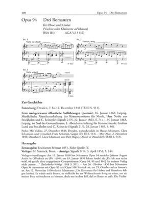 Schumann-Werkverzeichnis