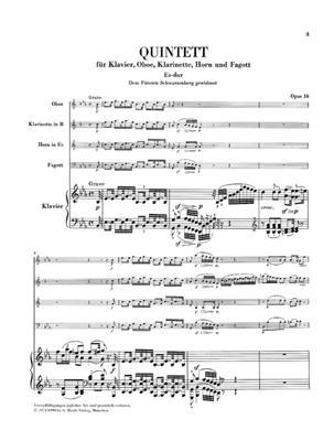 Ludwig van Beethoven: Quintett Fur Klavier Und Blaser Op. 16: Piano Quintet