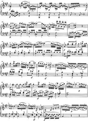 J.A. Steffan: 5 Capricci (Erstausgabe): Piano