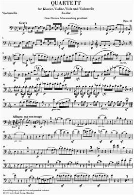 Ludwig van Beethoven: Piano Quartets: Piano Quartet
