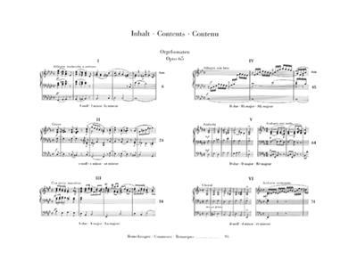 Felix Mendelssohn Bartholdy: Organ Sonatas Op.65: Organ