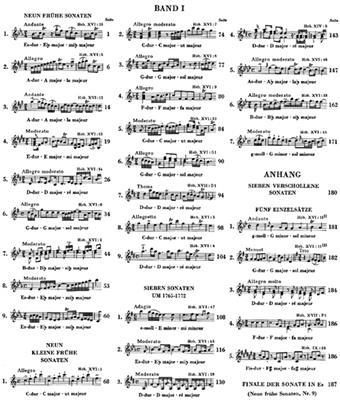 Franz Joseph Haydn: Complete Piano Sonatas, Volume I: Piano