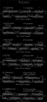 Leichte Klaviervariationen Aus Barock Und Klassik: Piano