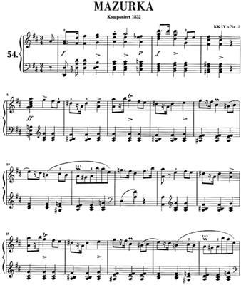 Frédéric Chopin: Mazurkas: Piano