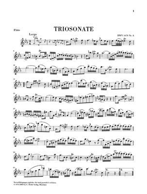 Johann Sebastian Bach: Trio Sonata Canon Perpetuos: Flute & Violin