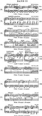 Wolfgang Amadeus Mozart: Piano Sonatas Volume 2: Piano