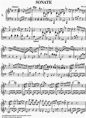 Muzio Clementi: Sonaten 1 (Auswahl): Piano