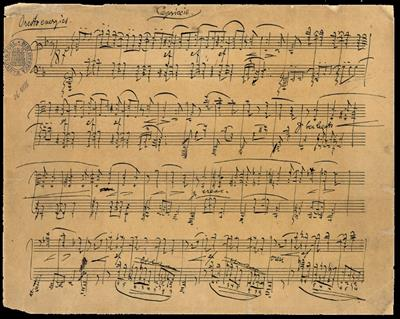 Johannes Brahms: Fantasies op. 116: Piano