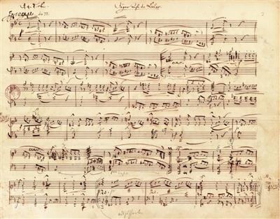 Robert Schumann: Forest Scenes Op. 82 Piano Facsimile: Piano