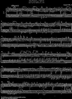 Johann Christian Bach: Sonaten 1 Opus 5: Piano
