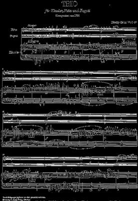 Ludwig van Beethoven: Trio For Piano, Flute And Bassoon WoO 37: Chamber Ensemble