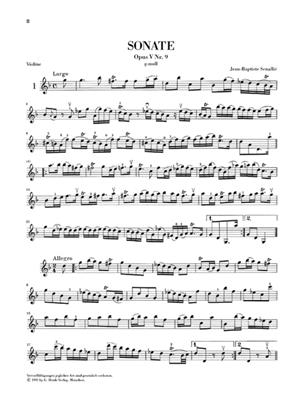 Französische Violinmusik der Barockzeit 1: Violin