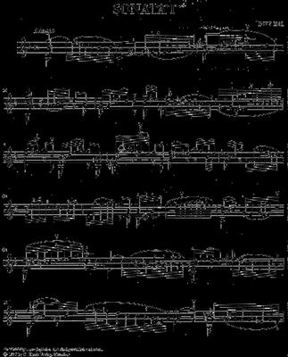 Johann Sebastian Bach: Sechs Sonaten Und Partiten - Violine Solo: Violin