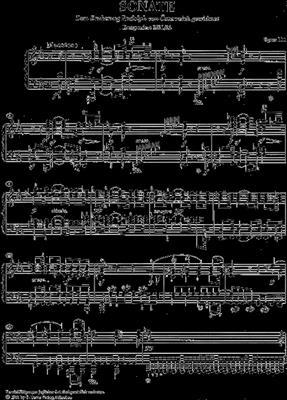 Ludwig van Beethoven: Piano Sonata In C Minor Op.111: Piano