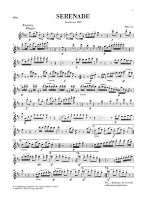 Ludwig van Beethoven: Flotenserenade Op.25 Urtext: Flute, Violin & Viola