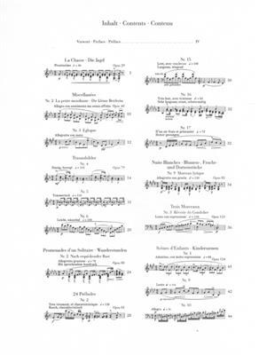 Stephen Heller: Ausgewahlte Klavierwerke Charakterstucke: Piano