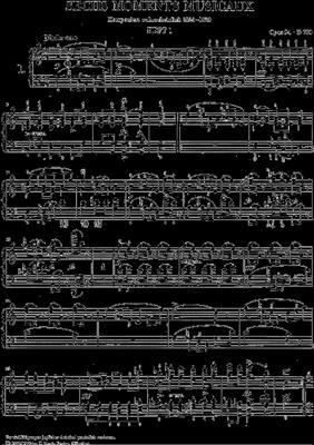 Franz Schubert: Moments Musicaux Op.94: Piano