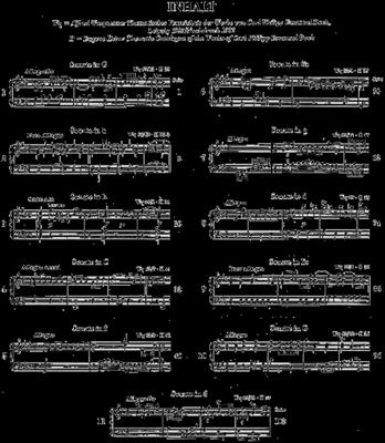 Carl Philipp Emanuel Bach: Sonaten 1 (Auswahl): Piano