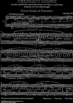 Claude Debussy: Children's Corner: Piano