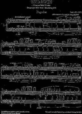 Claude Debussy: Estampes: Piano