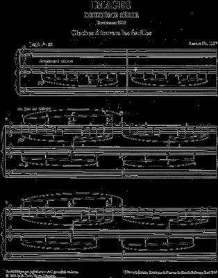 Claude Debussy: Images - Deuxieme Série: Piano