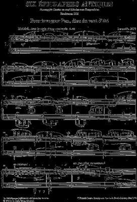 Claude Debussy: Six Epigraphes Antiques: Piano