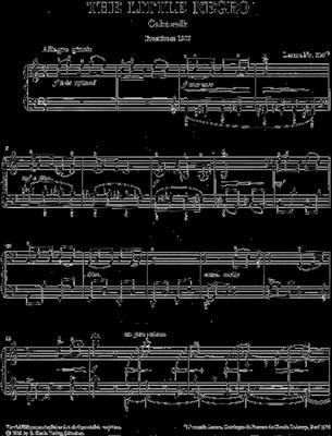 Claude Debussy: The Little Negro: Piano