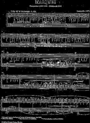 Claude Debussy: Masques: Piano