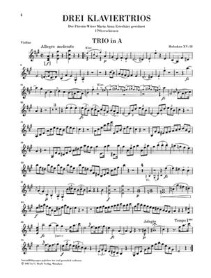 Franz Joseph Haydn: Piano Trios, Volume IV: Piano Trio