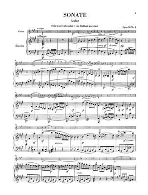 Ludwig van Beethoven: Works For Piano And Violin, Volume 2: Violin