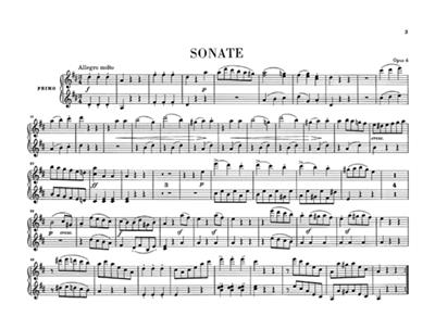 Ludwig van Beethoven: Works for Piano four-hands: Piano Duet