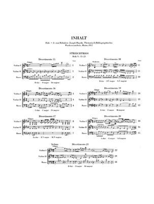 Franz Joseph Haydn: Streichtrios Heft II: String Trio
