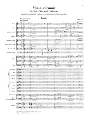 Ludwig van Beethoven: Missa solemnis op. 123