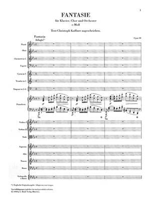 Ludwig van Beethoven: Chorwerke mit Orchester (Clothbound): Mixed Choir