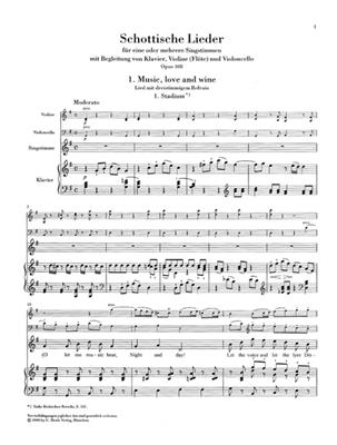 Ludwig van Beethoven: Scottish And Welsh Songs: Voice