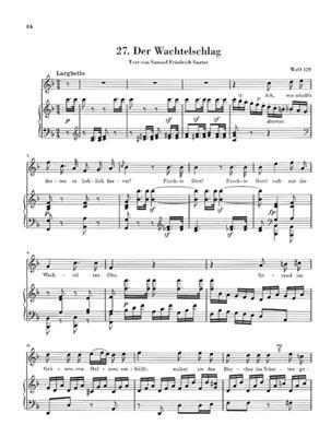 Ludwig van Beethoven: Lieder Und Gesange Mit Klavierbegleitung: Voice