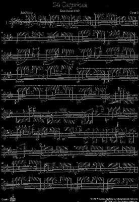 Niccolò Paganini: 24 Capricci op. 1: Violin