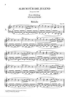 Robert Schumann: Album Fur Die Jugend Op.68: Piano