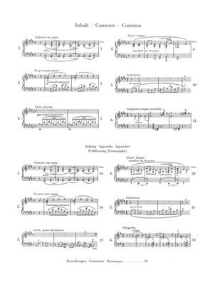 Franz Liszt: Consolations: Piano