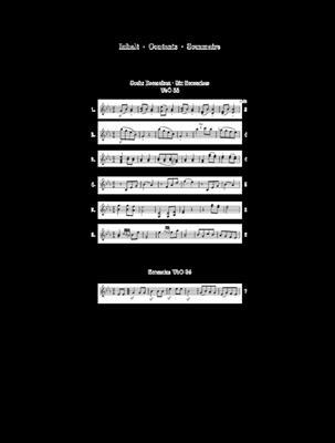 Ludwig van Beethoven: Ecossaises WoO 83 and WoO 86: Piano