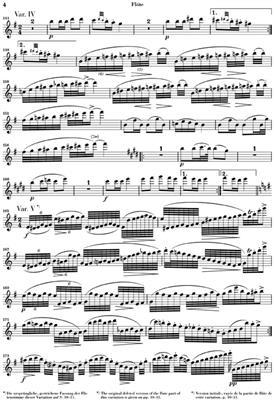 Franz Schubert: Variations On 'Trockne Blumen' D.802: Flute