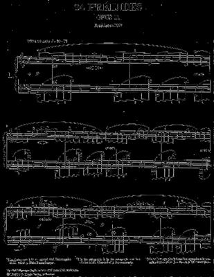 Alexander Scriabin: 24 Preludes Op.11: Piano