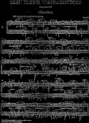 Max Reger: 10 Kleine Vortragsstücke Opus 44: Piano