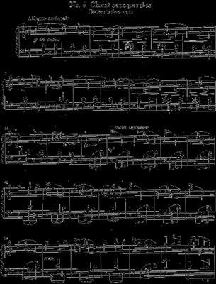 Pyotr Ilyich Tchaikovsky: Twelve Piano Pieces Op. 40: Piano