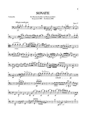 Ludwig van Beethoven: Sonata In F For Piano And Horn Or Cello Op.17: French Horn