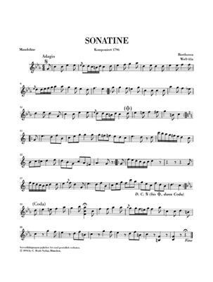 Ludwig van Beethoven: Works for Mandolin and Piano: Mandolin