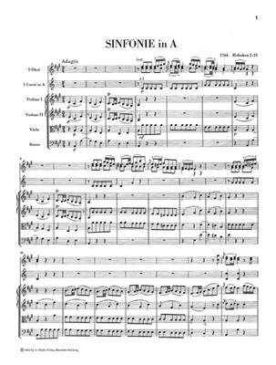 Franz Joseph Haydn: Sinfonien 1764 1765 Edizione Rilegata In Tela: Orchestra