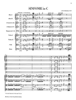 Franz Joseph Haydn: Sinfonien 1773 1774 Edizione Rilegata In Tela: Orchestra