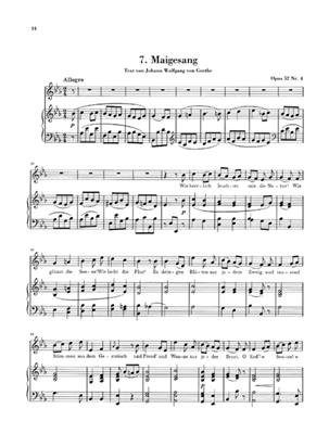 Ludwig van Beethoven: Samtliche Lieder Band I: Voice