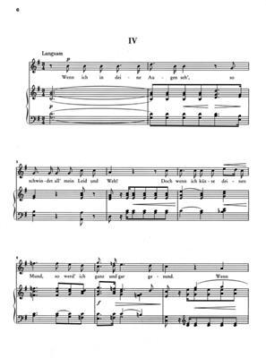 Robert Schumann: Poet's Love Op.48: Voice